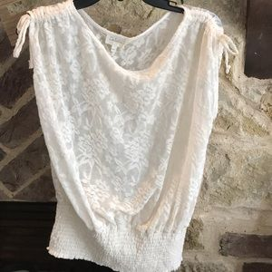NWT Anthropologie Deletta lace top